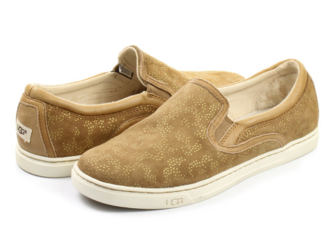 Ugg Slip-on W Fierce Metallic Conifer