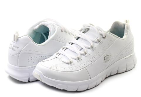 Skechers Cipő - Elite Status - 11798-wht - Office Shoes Magyarország 348899b750
