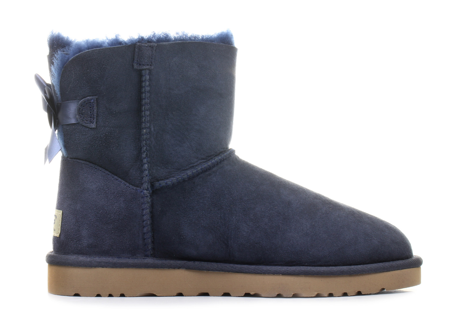 abbb7fd9a10 Ugg Boots - W Mini Bailey Bow - 1005062-NAVY - Online shop for sneakers,  shoes and boots