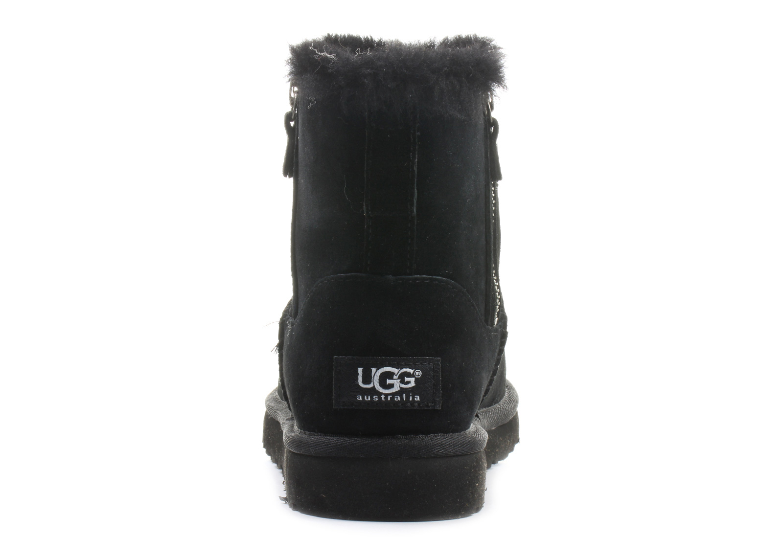 1254ec2509d Ugg Boots - W Classic Mini Double Zip - 1009861-BLK - Online shop for  sneakers, shoes and boots