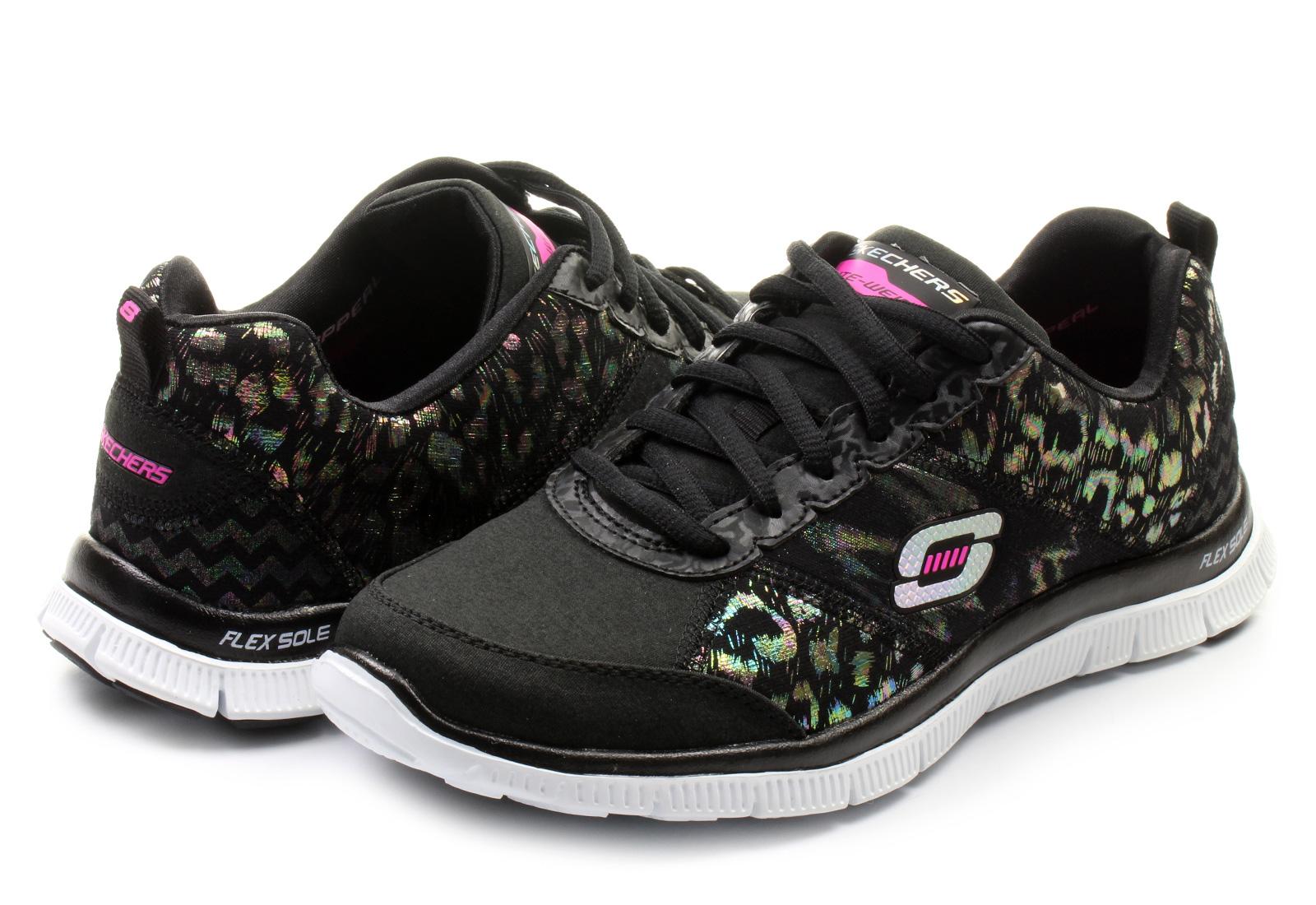 Skechers Cipő - Hollywood Hills - 12199-bkw - Office Shoes Magyarország 74d2610401