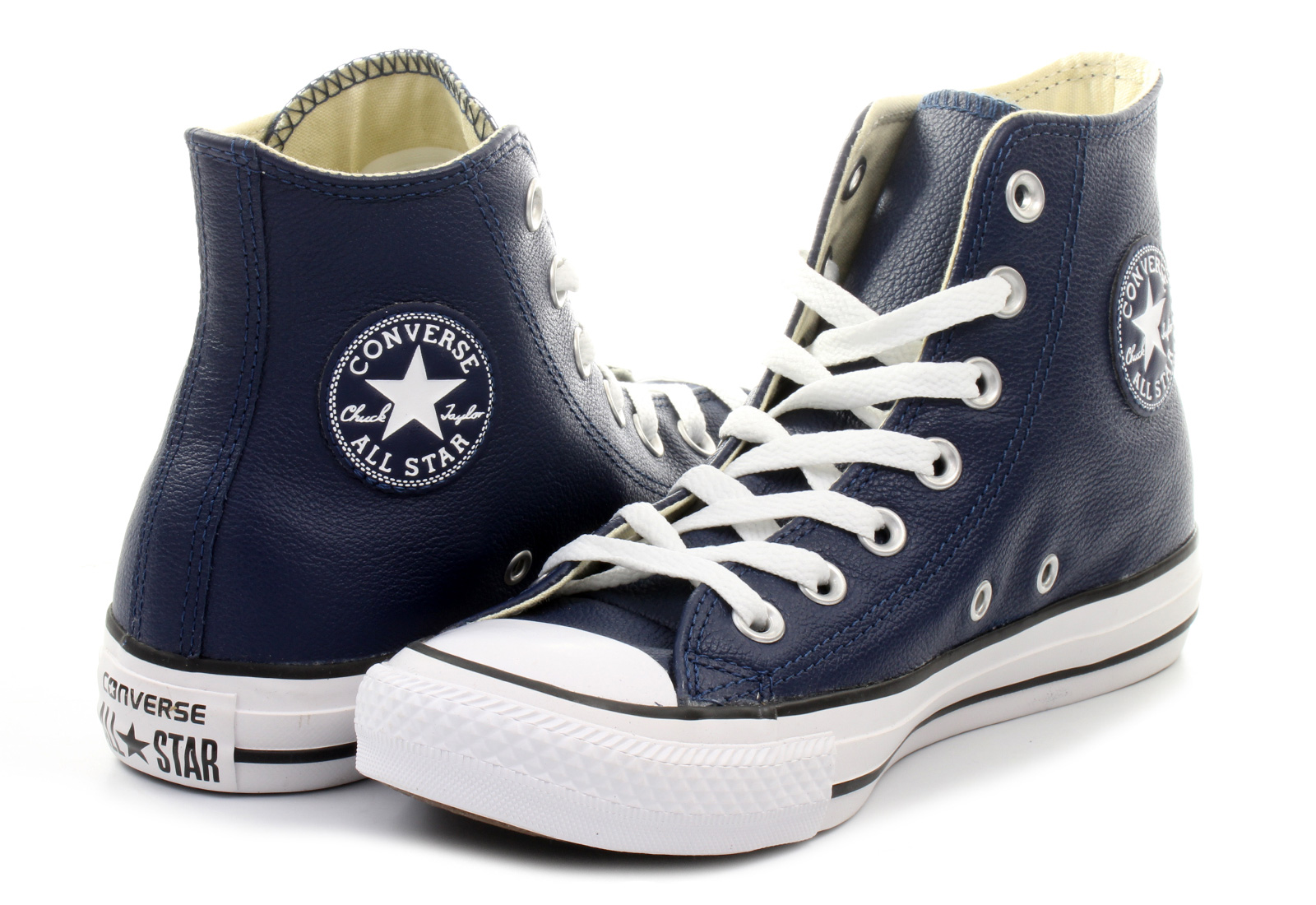 Converse Tornacipő - Chuck Taylor All Star Leather Hi - 149490C ... bbb114d05d