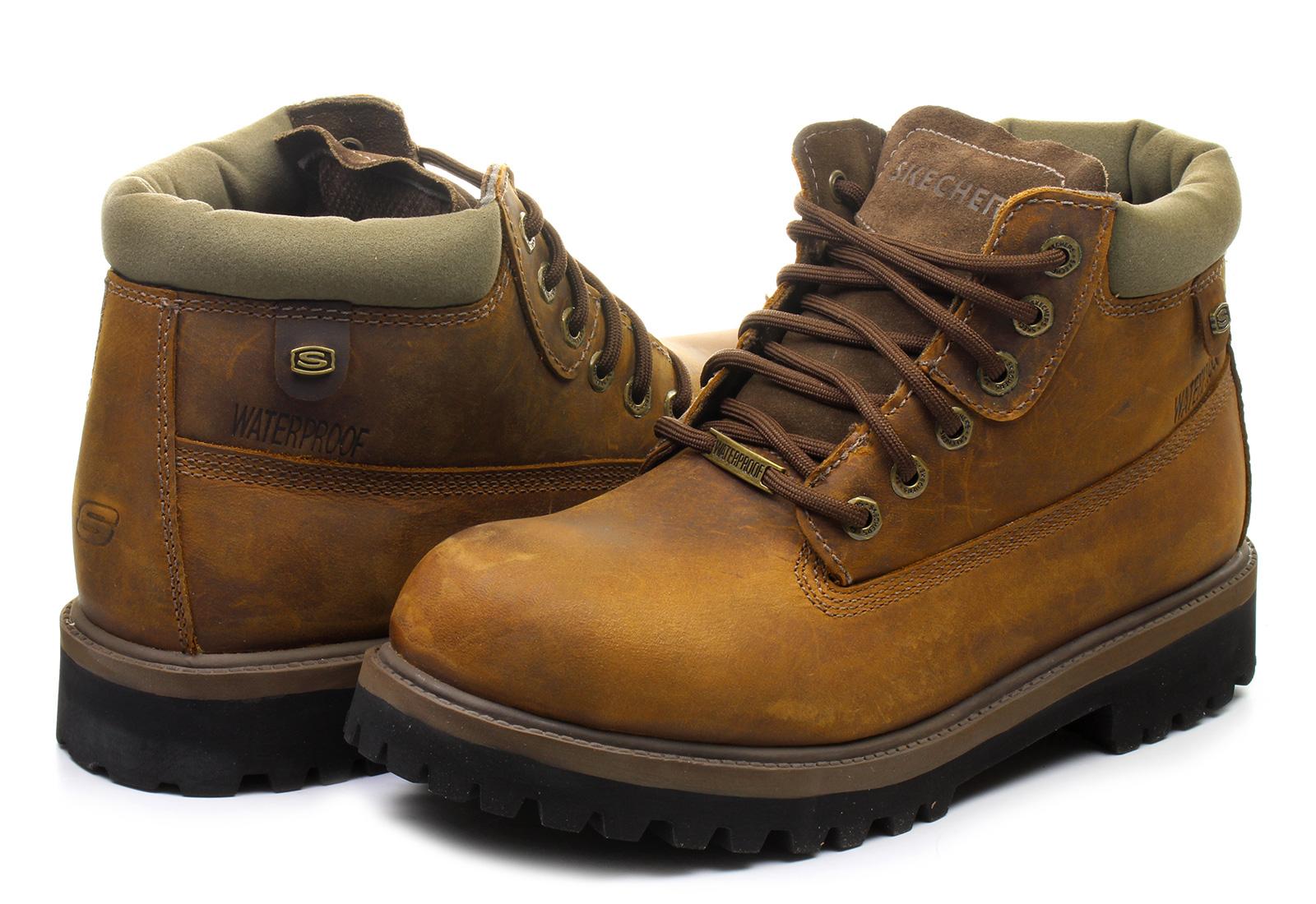Skechers Bakancs - Verdict - 4442-DKBR - Office Shoes Magyarország f9db9bb4ae