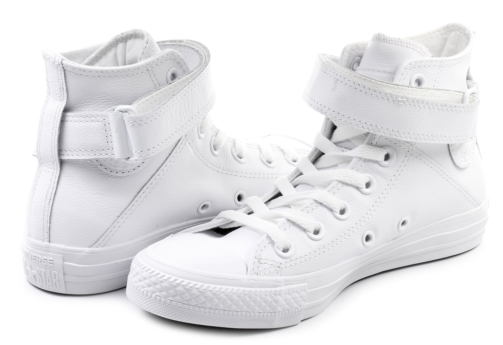 f6477cc6e3df Converse Sneakers - Chuck Taylor All Star Brea Leather Hi - 549582C ...