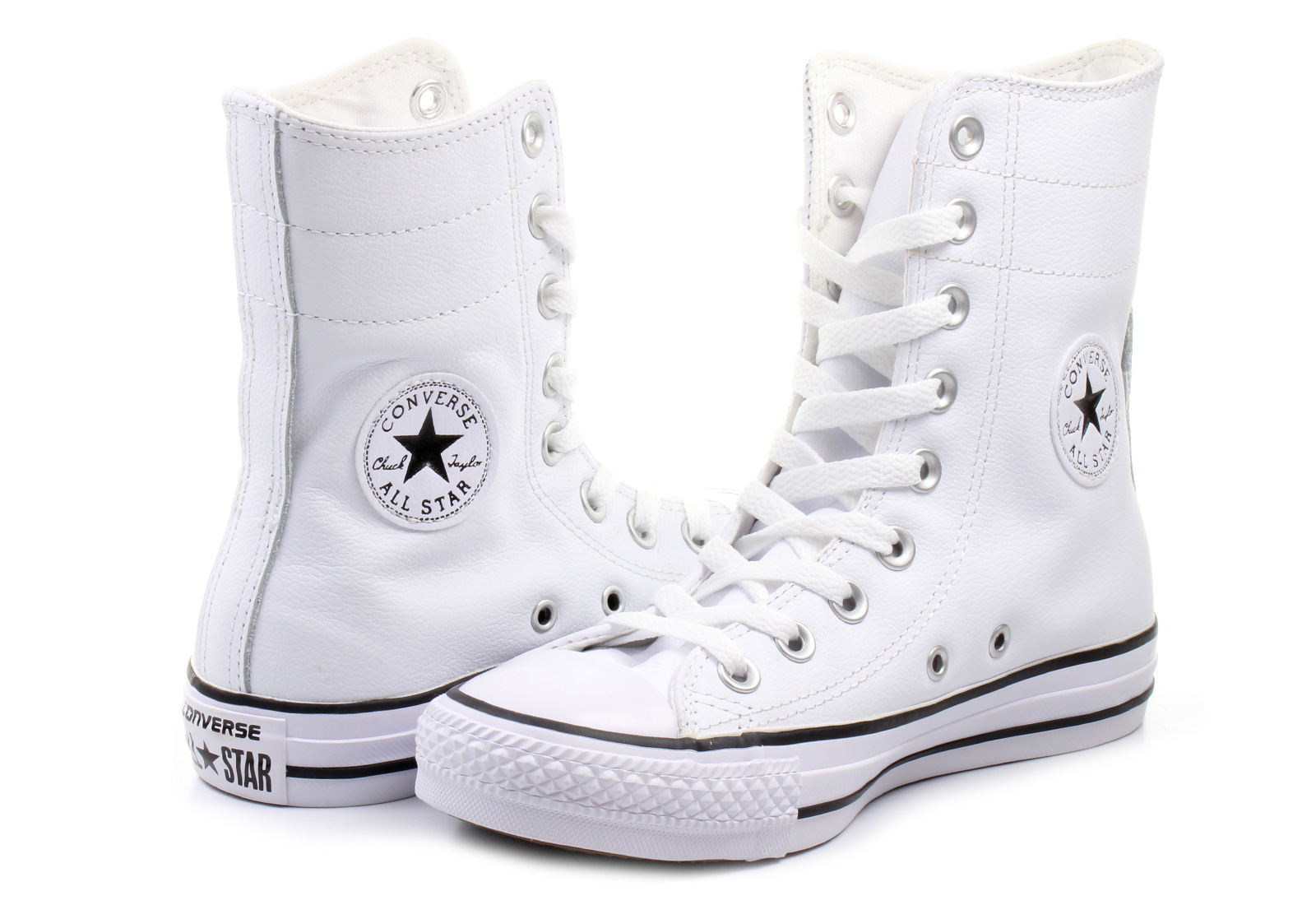 Converse Tenisky - Chuck Taylor All Star Hi-rise Leather Hi ... 7e9fe36098