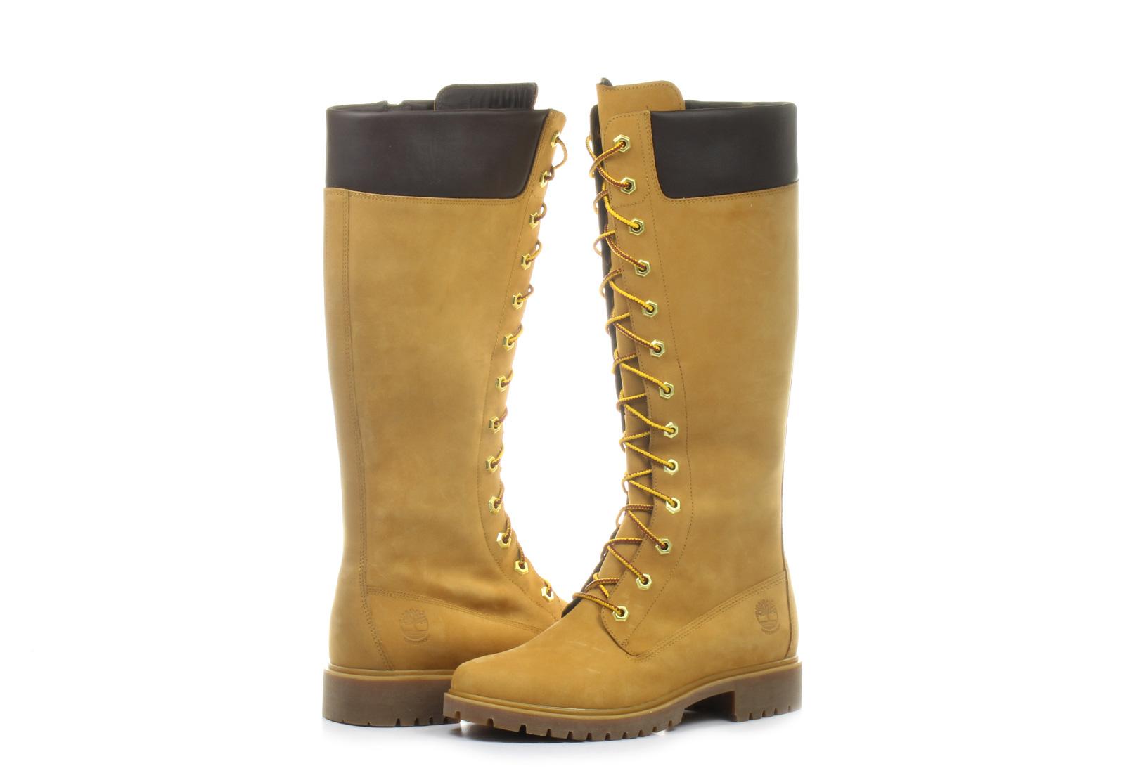 Timberland Čižmy - 14 In Premium Side Zip Boot - 8633a-whe ... 083f185c9c9
