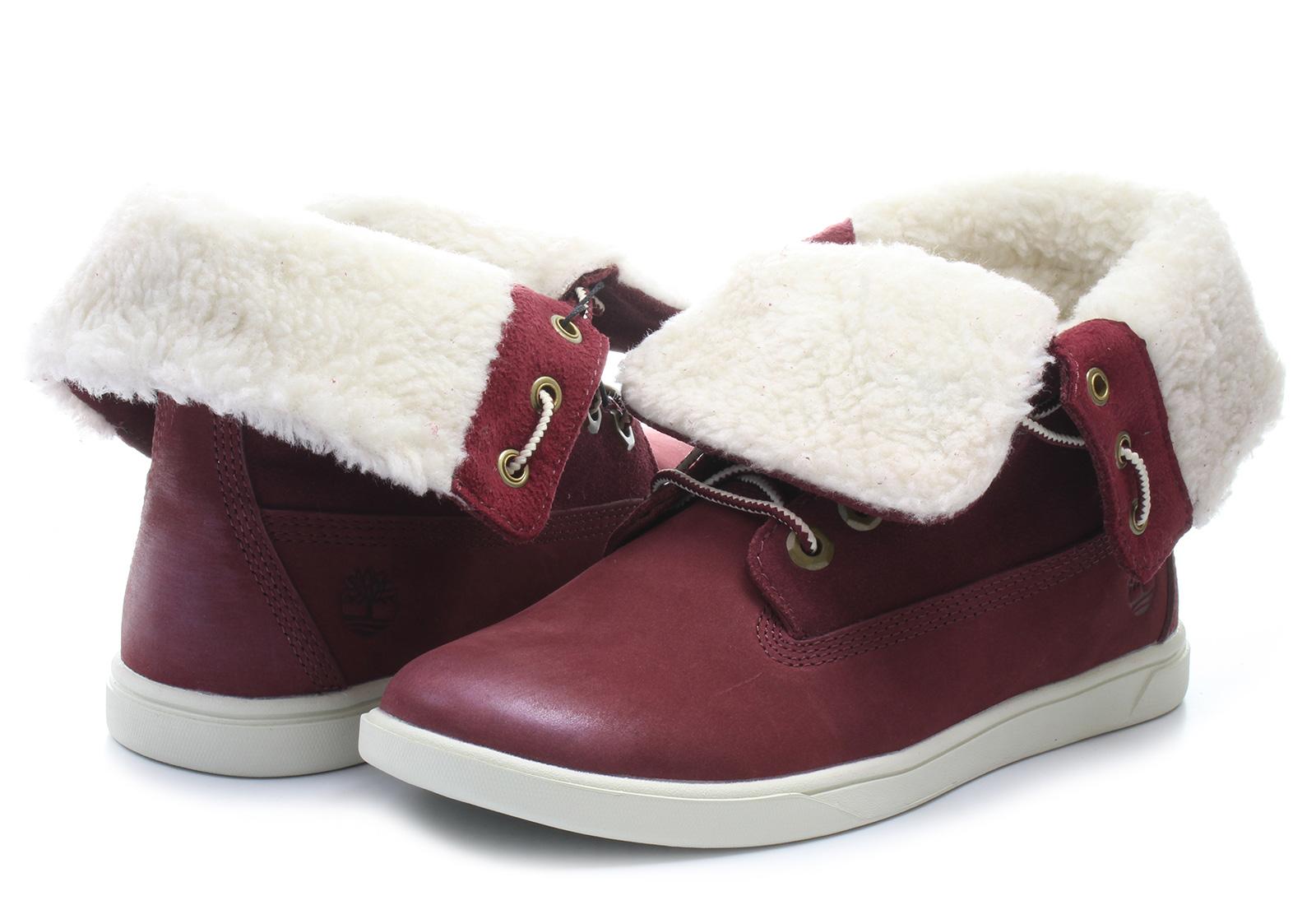 1f96da5658c5 Timberland Boots - Groveton Girls Deering Fold Down - a164n-bur ...