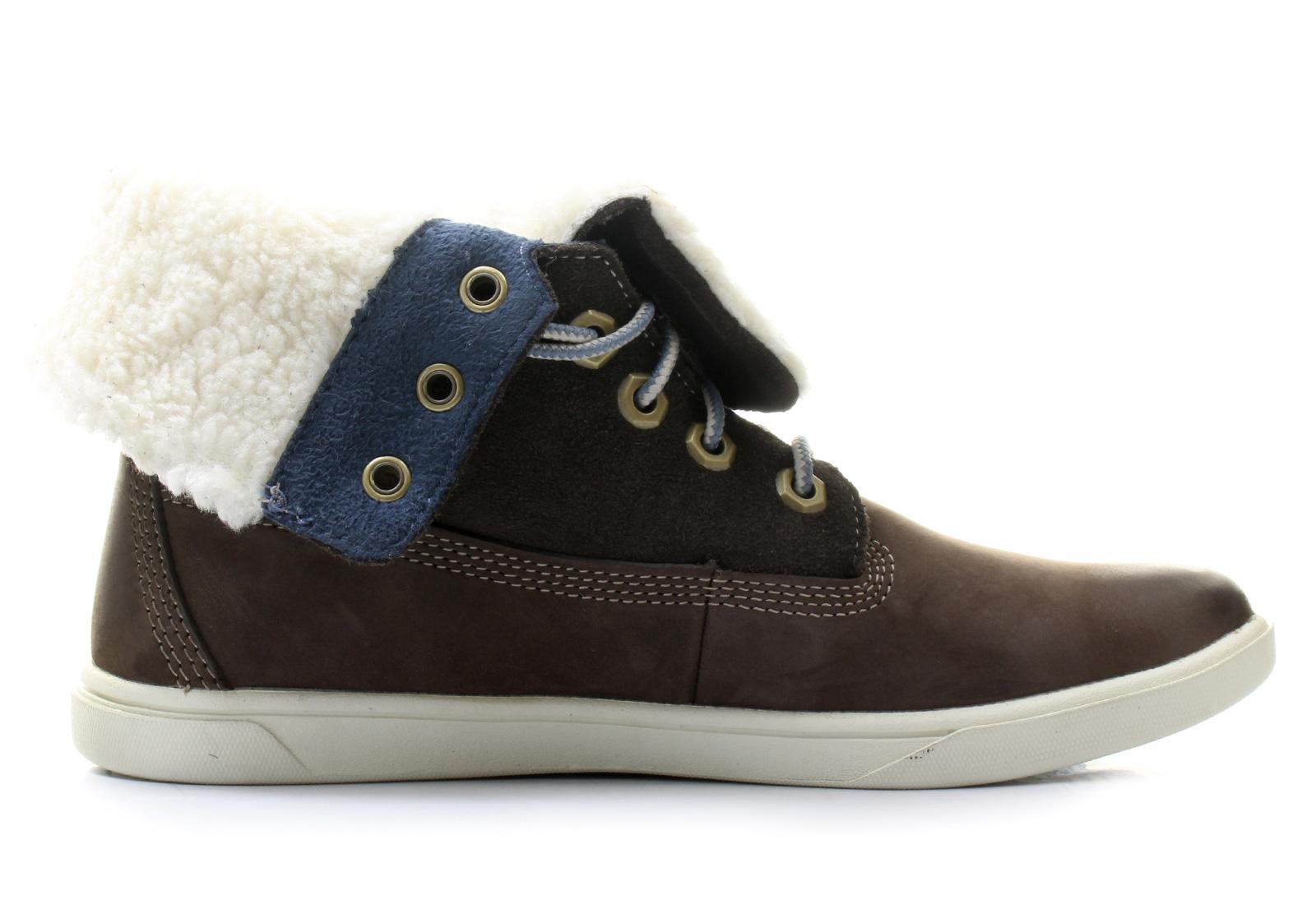 e09093eca166 Timberland Boots - Groveton Girls Deering Fold Down - a164y-dbr ...