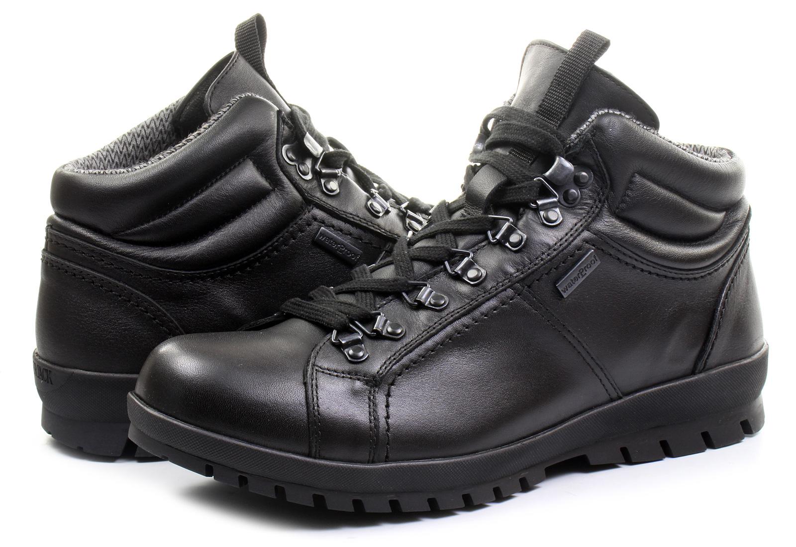 Lumberjack Shoes Zermatt Wp Leather M31013 B01 Blk