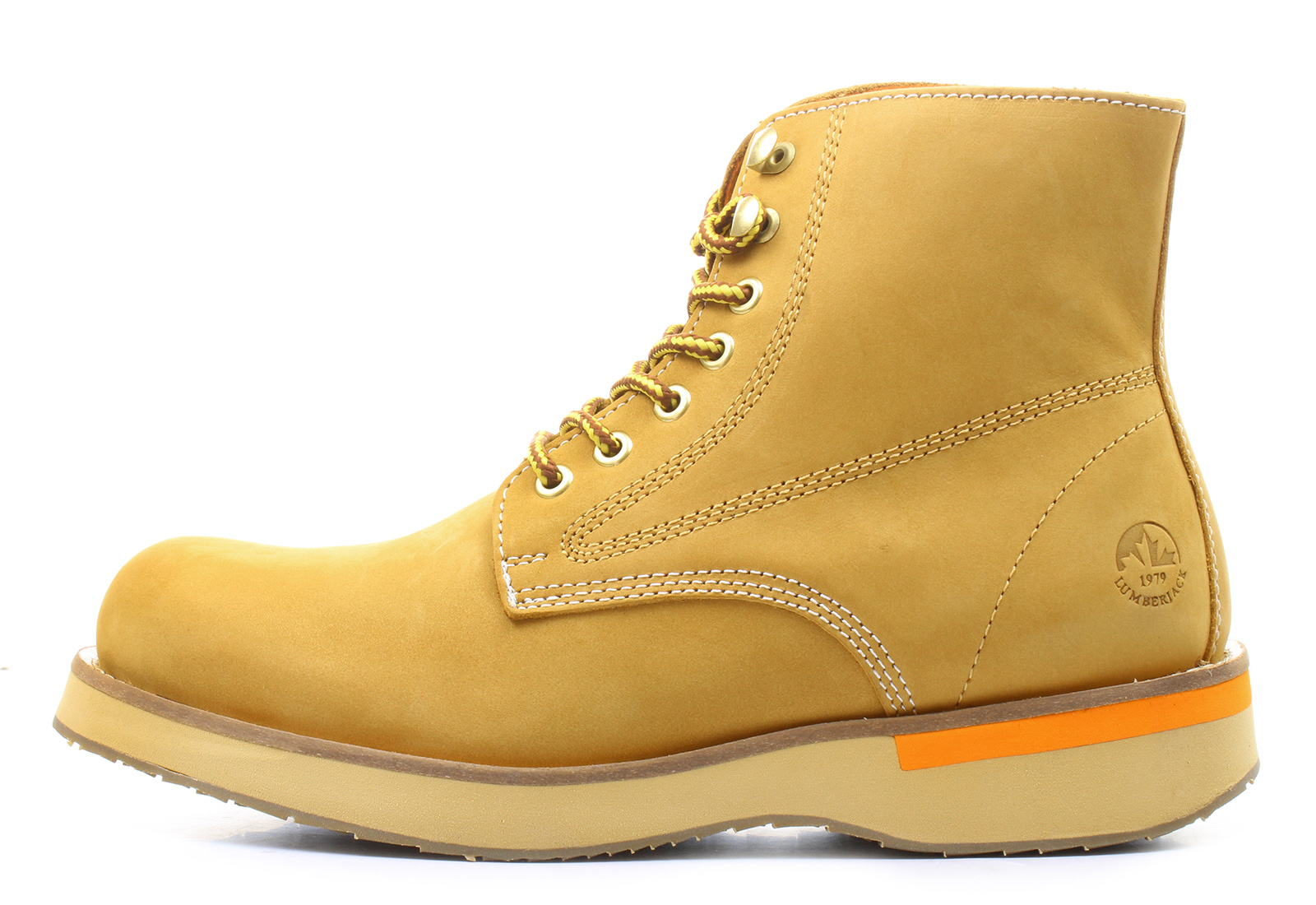 Lumberjack Boot Yellow