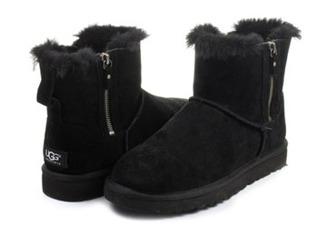 777cff65f9f Ugg Boots - W Classic Mini Double Zip - 1009861-BLK - Online shop for  sneakers, shoes and boots