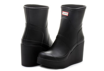 reputable site attractive price best website Hunter Boots - Original Mid Wedge Short - p1065rma-blk - Online shop for  sneakers, shoes and boots