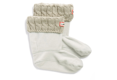 Hunter Șosete 6 Stitch Cable Boot Sock - Short