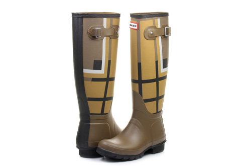 Hunter Boots Womens Original Tall Tartan