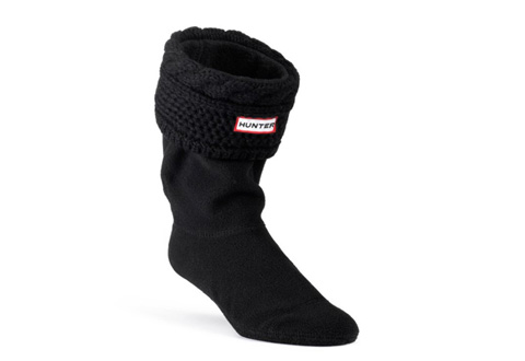 Hunter Čarape stich cable boot socks