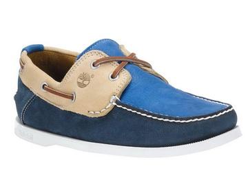 05fa54f4049488 Timberland Kožne Plava Cipele - HERITAGE CW BOAT FTB - Office Shoes ...