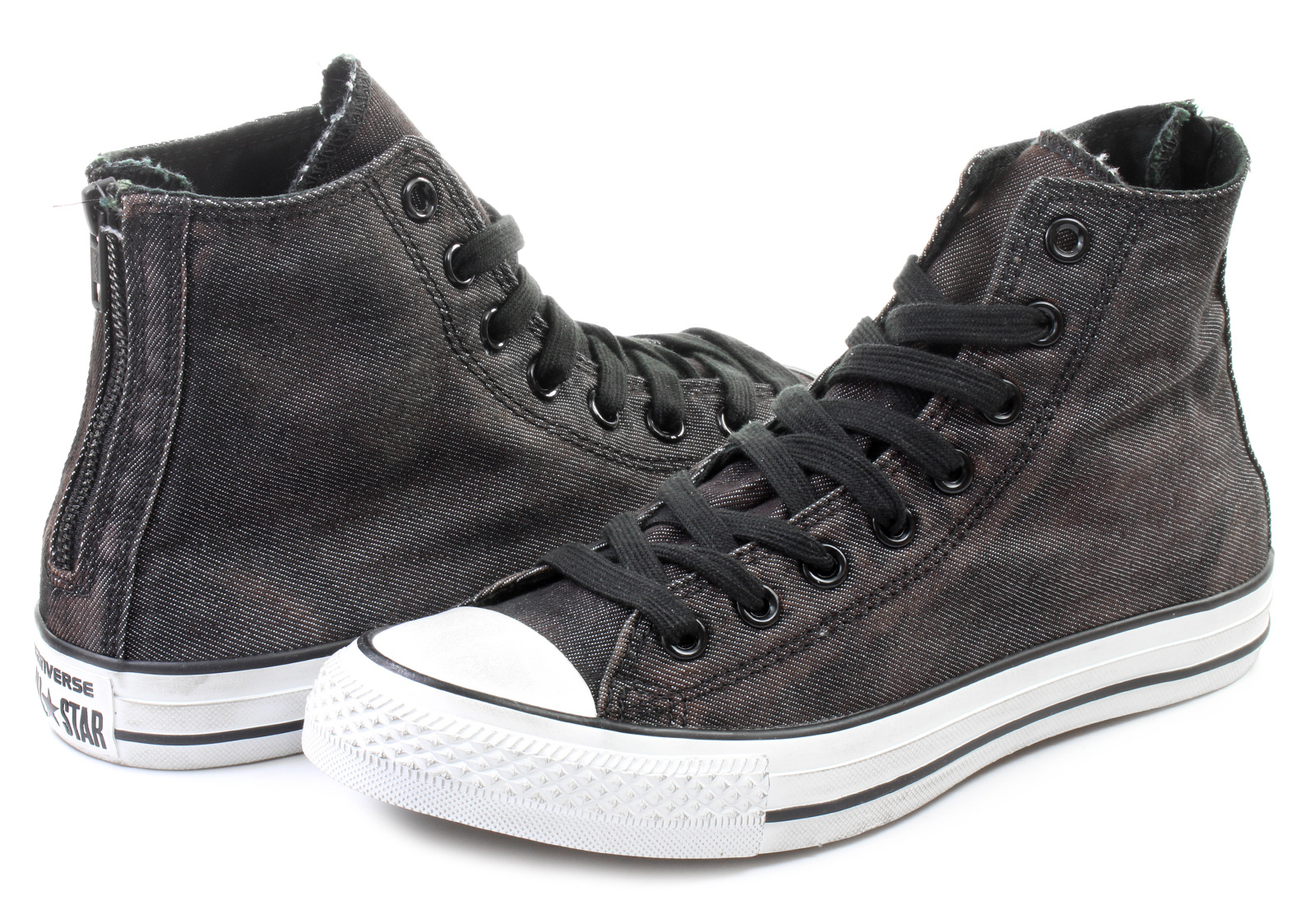f758783eb0b ... clearance converse sneakers chuck taylor all star back zip hi 2ea3b  bfdf3