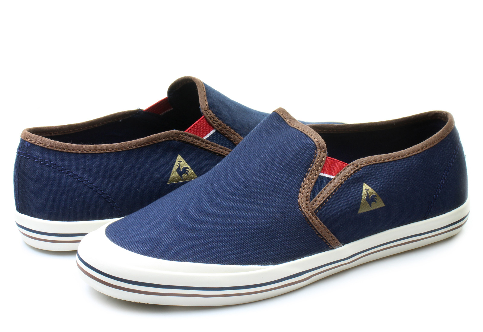 le coq sportif shoes grandville slip on 1510055 online shop for sneakers shoes and boots. Black Bedroom Furniture Sets. Home Design Ideas