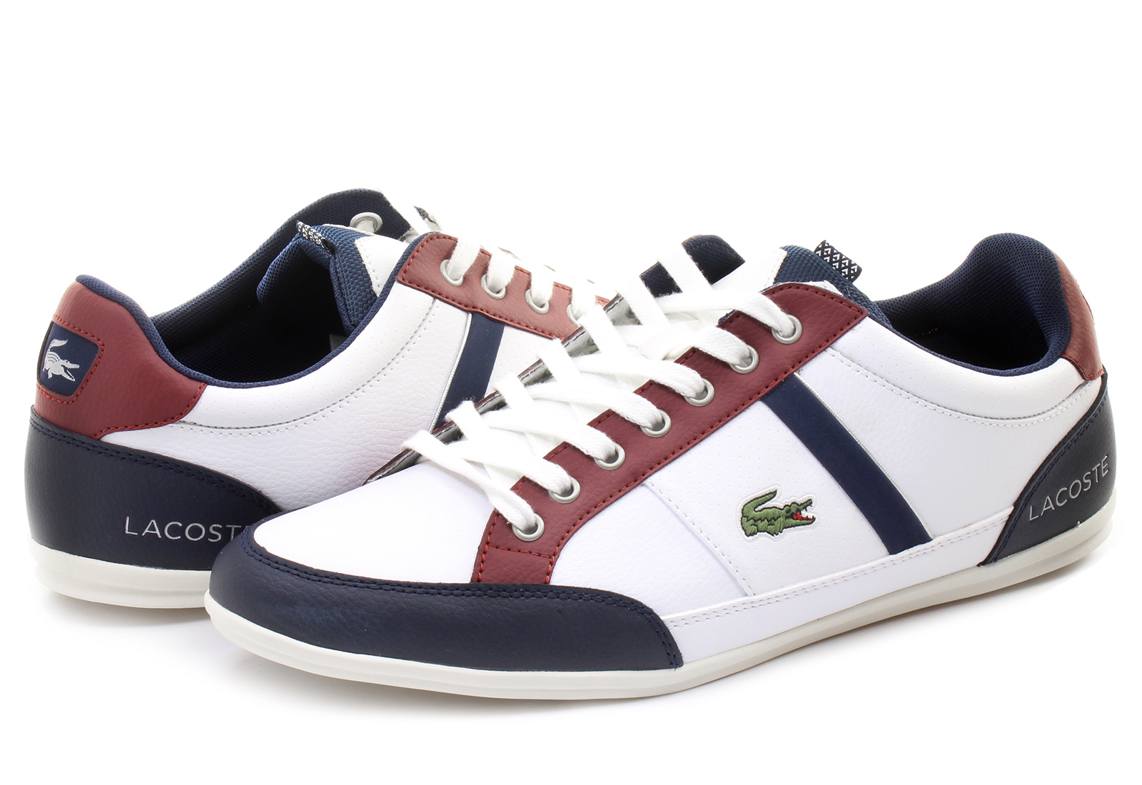 lacoste shoes chaymon 151spm0045 x96 online shop for sneakers shoes and boots. Black Bedroom Furniture Sets. Home Design Ideas