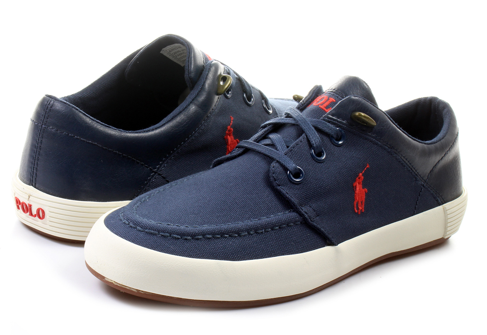 Black High Top Polo Shoes