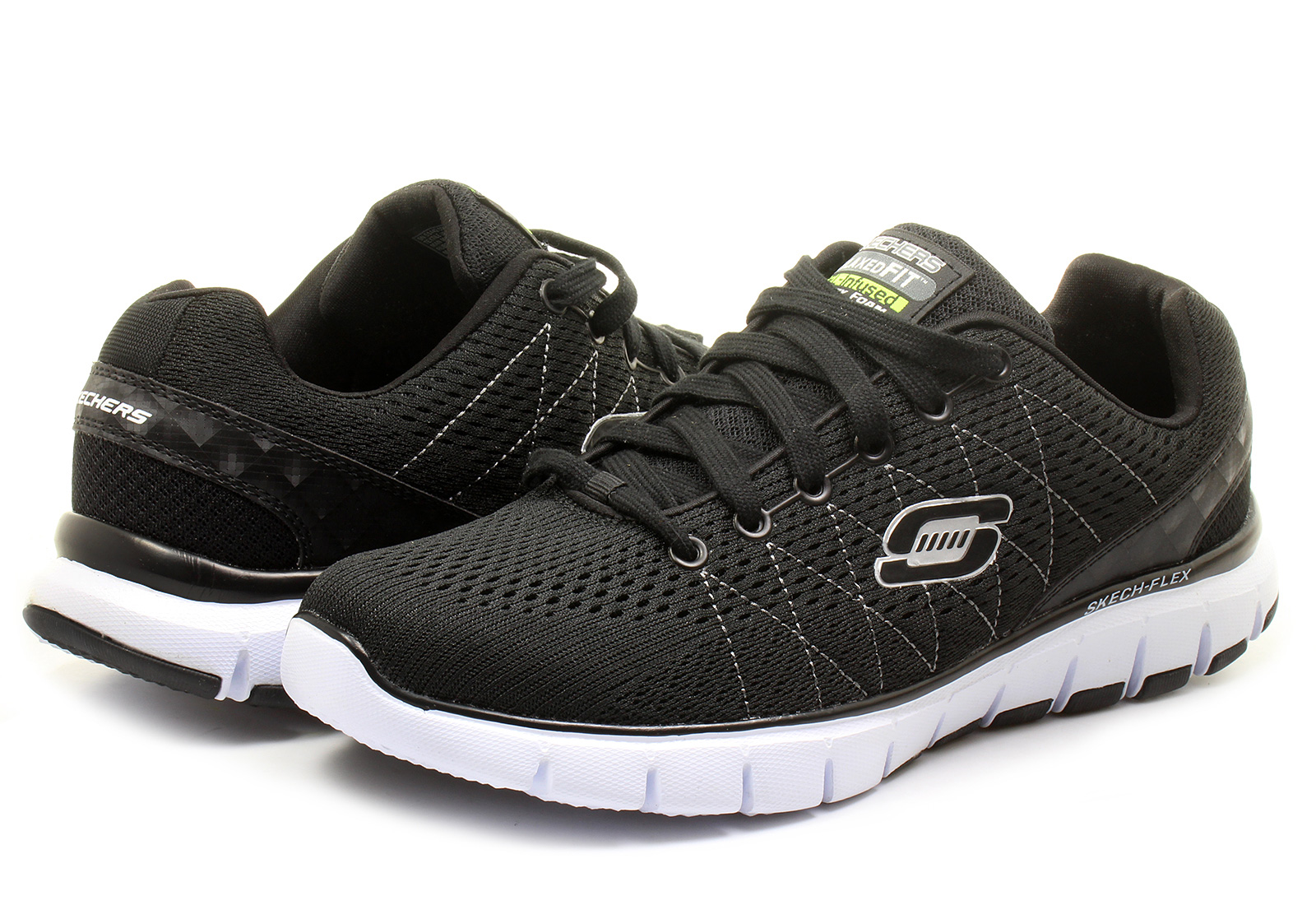 Skechers Shoes Skech Flex 51442 Bkw Online Shop For