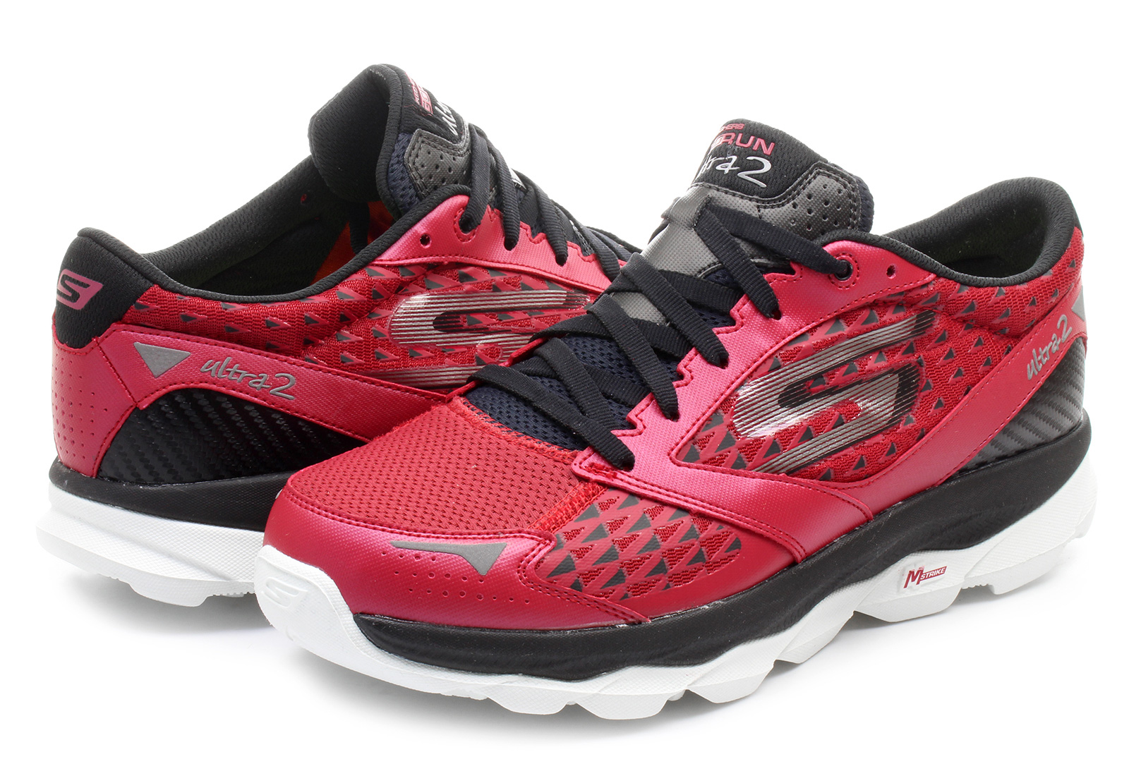 Skechers Shoes - Go Run Ultra 2 - 53918-RDBK - Online Shop For Sneakers Shoes And Boots