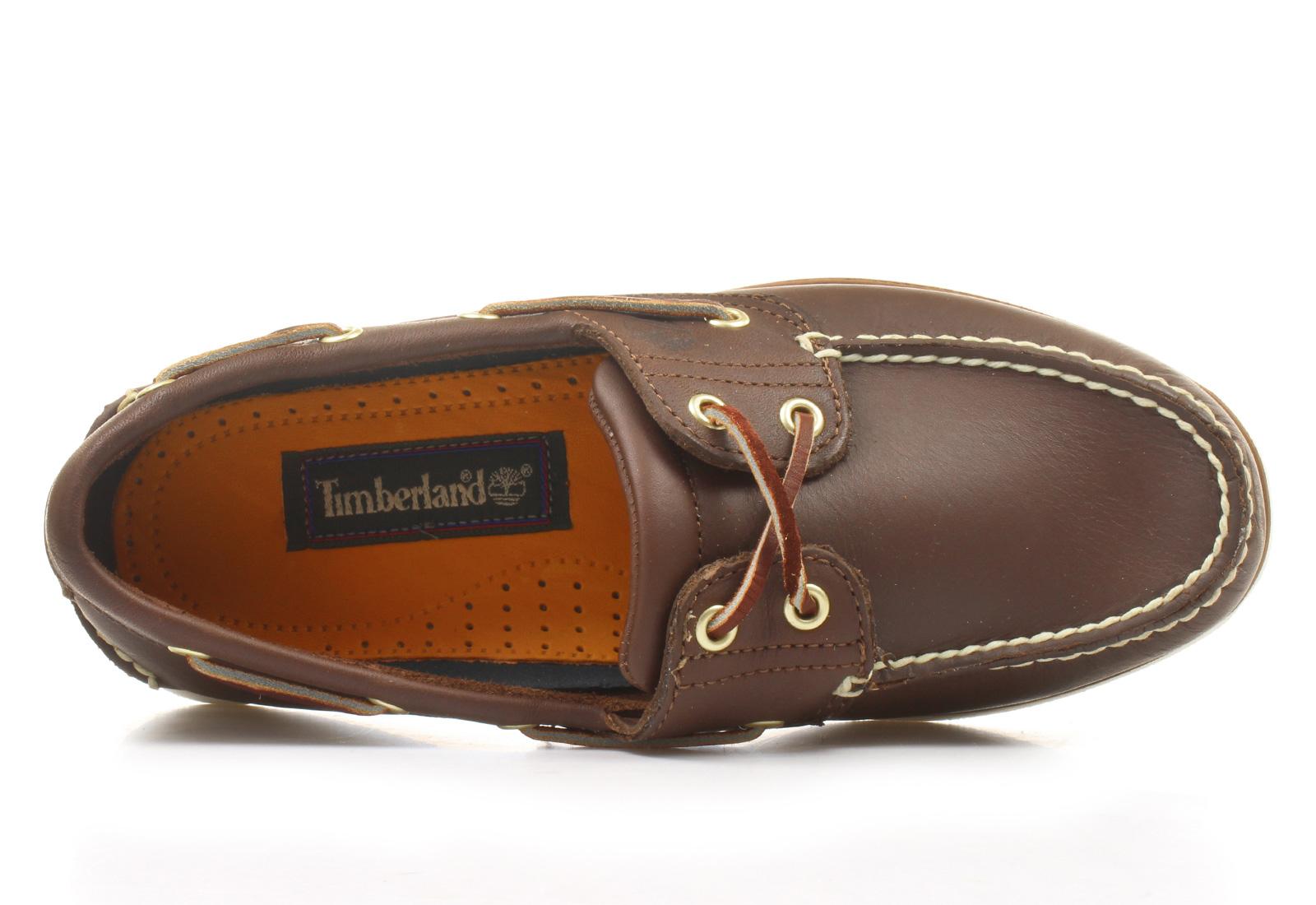 62c2594b1580 Timberland Cipő - Classic Boat - 74035-brn - Office Shoes Magyarország