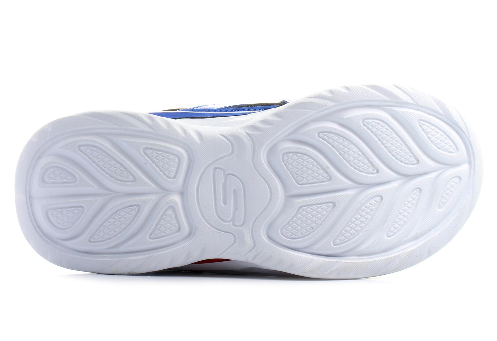 fb8f18eeacc3 Skechers Cipő - Ipox Light-up - 90385L-BLBK - Office Shoes Magyarország