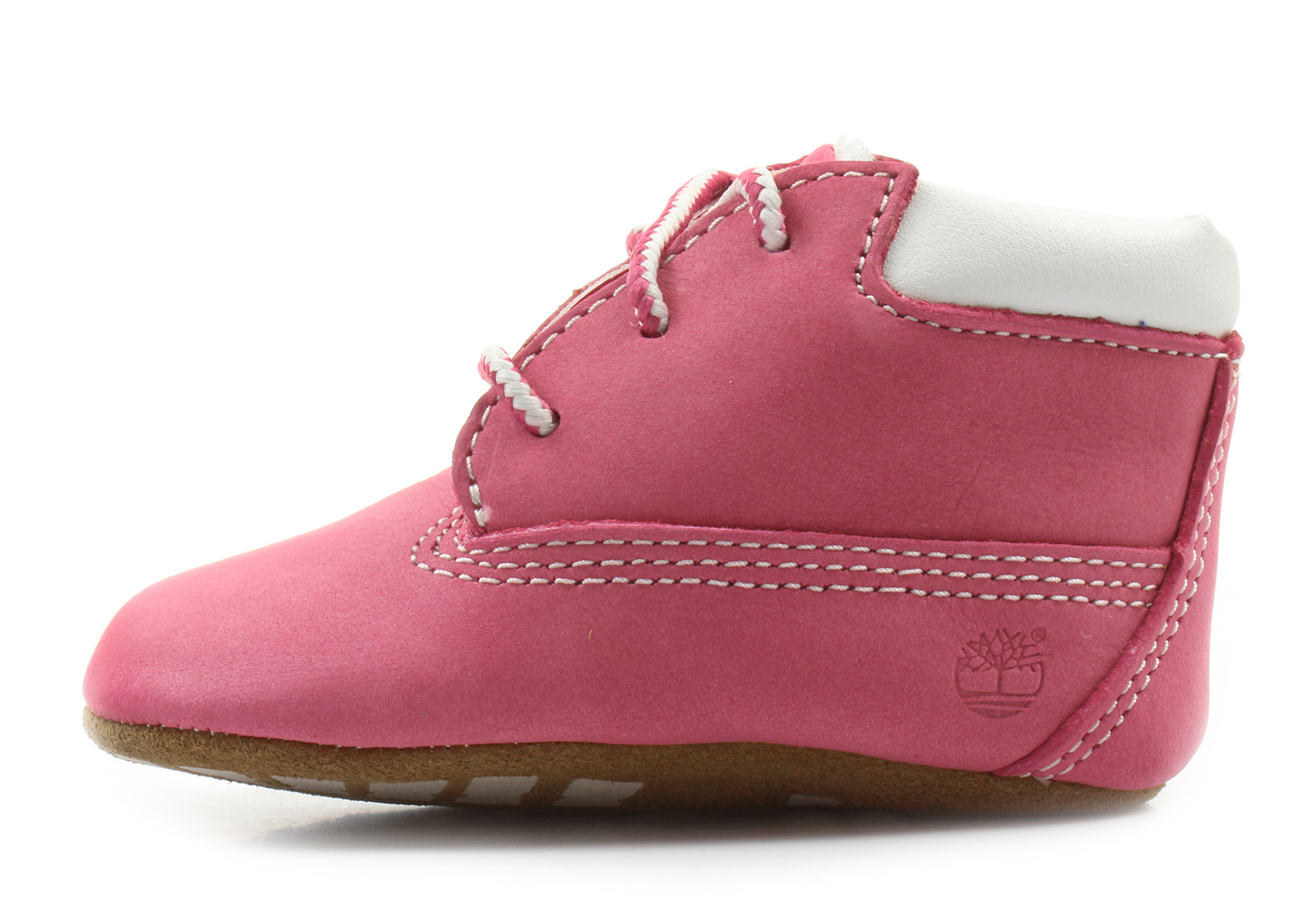 Timberland Topánky - Crib Bootie With Hat - 9680R-pnk - Tenisky ... 4cfb7c1ecde