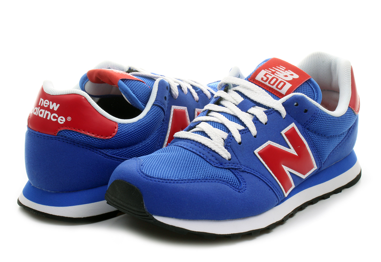 New Balance White Velcro Shoes