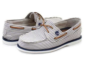 244f43c0155d Timberland Cipő - Classic 2 Eye Boat - 6523B-blu - Office Shoes ...