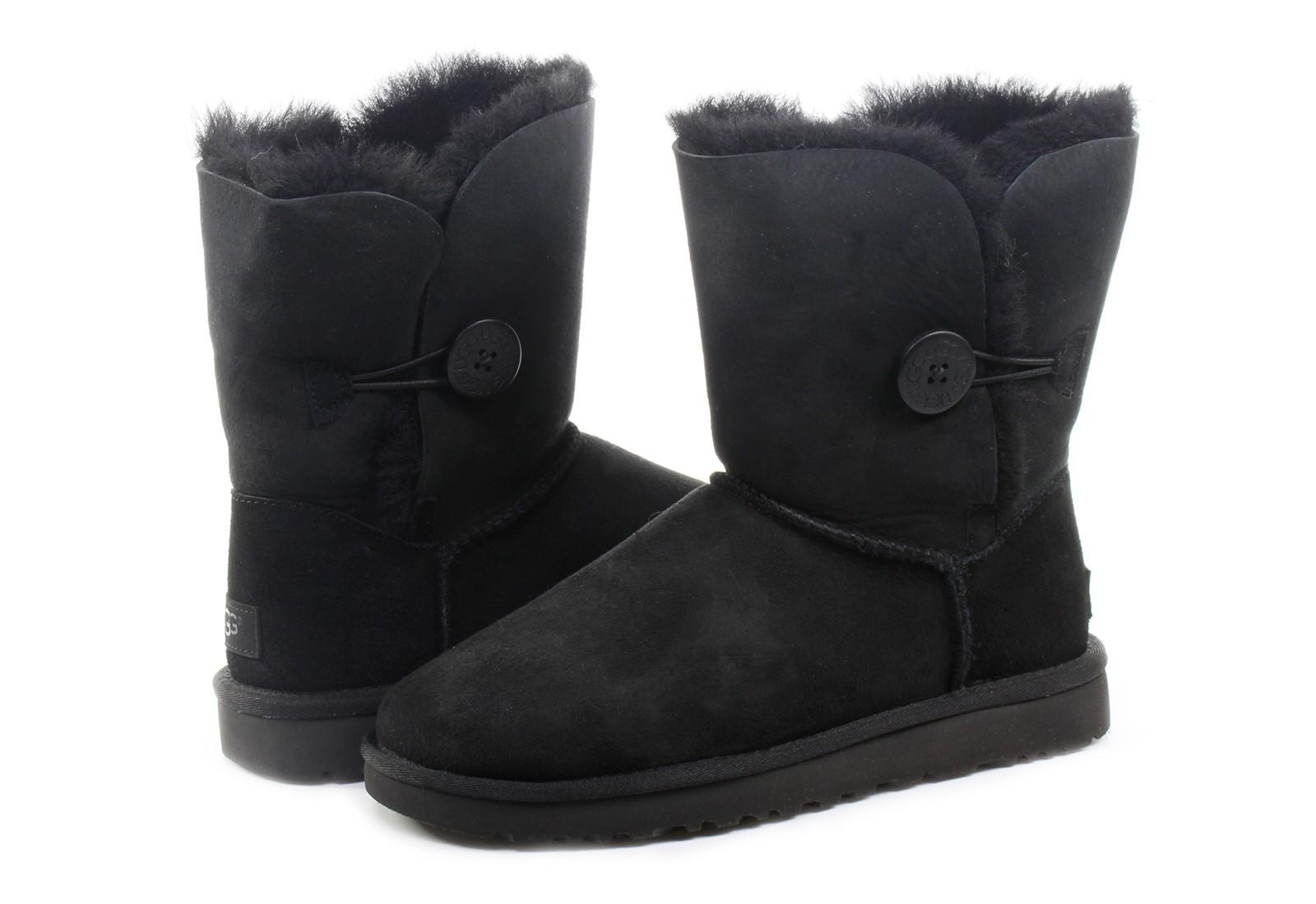 7c413975ff Ugg Csizma - Bailey Button Ii - 1016226-BLK - Office Shoes Magyarország
