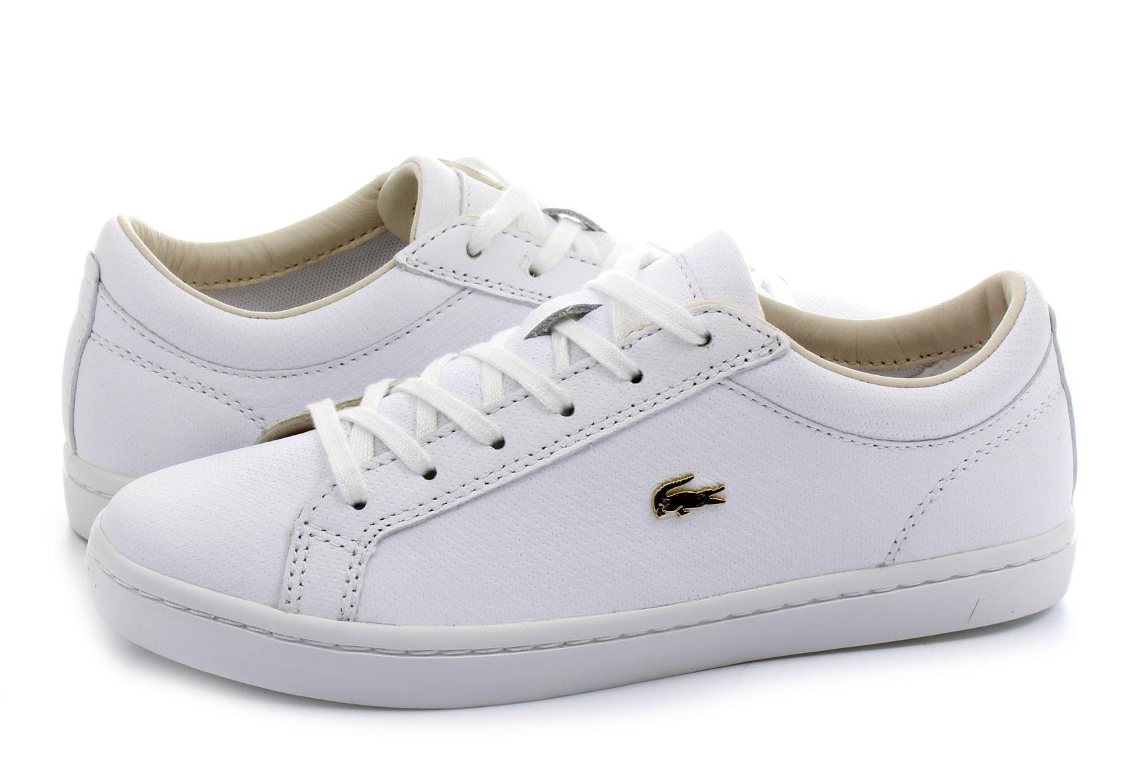 Lacoste Cipő - Straightset 3 - 163caw0146-001 - Office Shoes ... 87d940662c