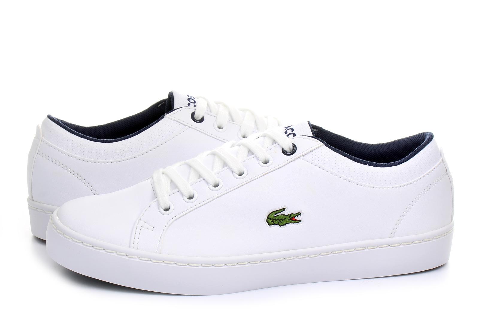 Lacoste Cipő - Straightset Lace - 163spj0126-001 - Office Shoes ... 605772f383