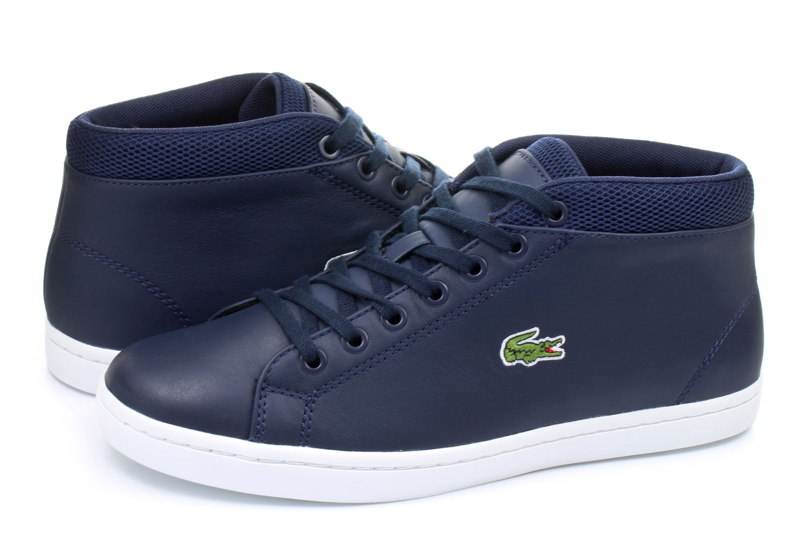 Lacoste Black And White Shoes