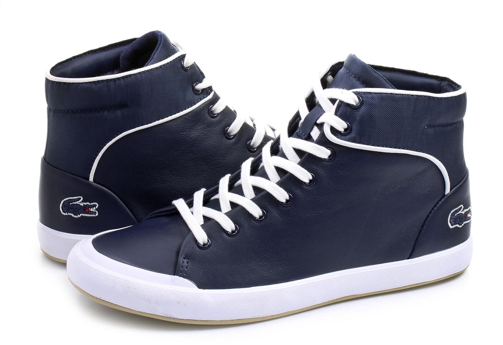 lacoste shoes lancelle hi top 1 163spw0166003