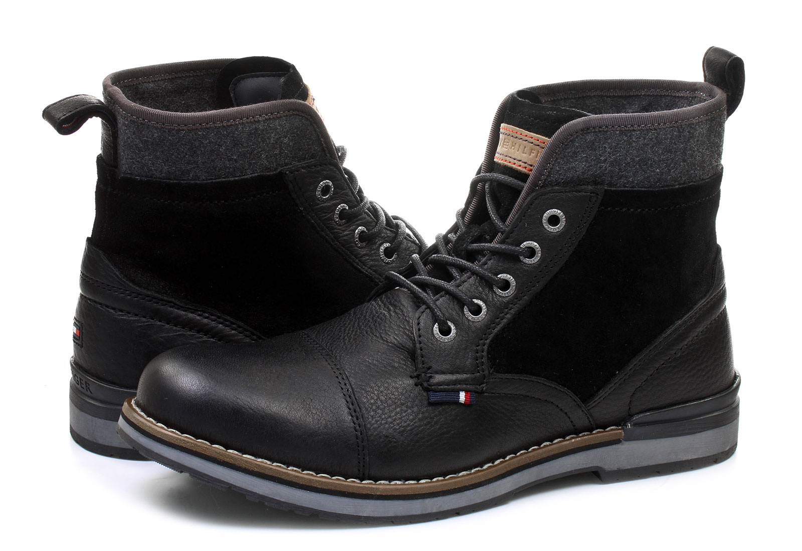 Tommy Hilfiger Bakancs - Rover 1c - 16F-1481-990 - Office Shoes ... 9ca465f666