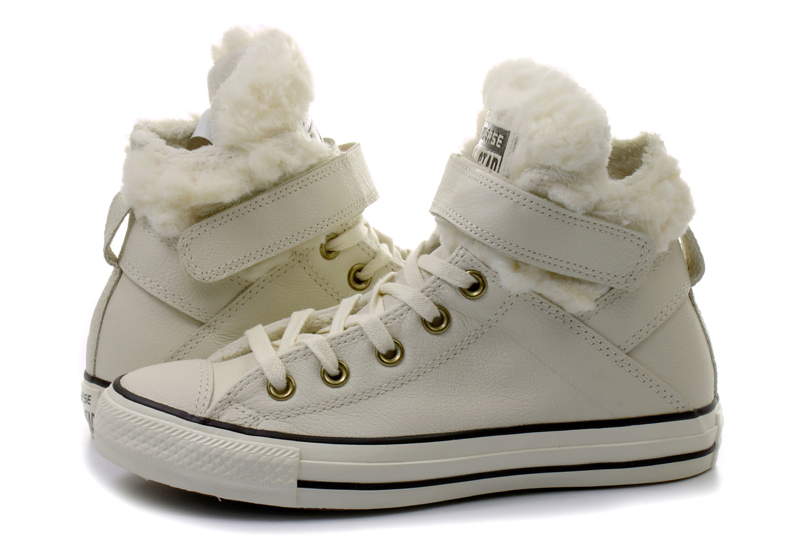 a6bfdba5ef2 Converse Tenisky - Chuck Taylor All Star Brea Leather W Fur ...
