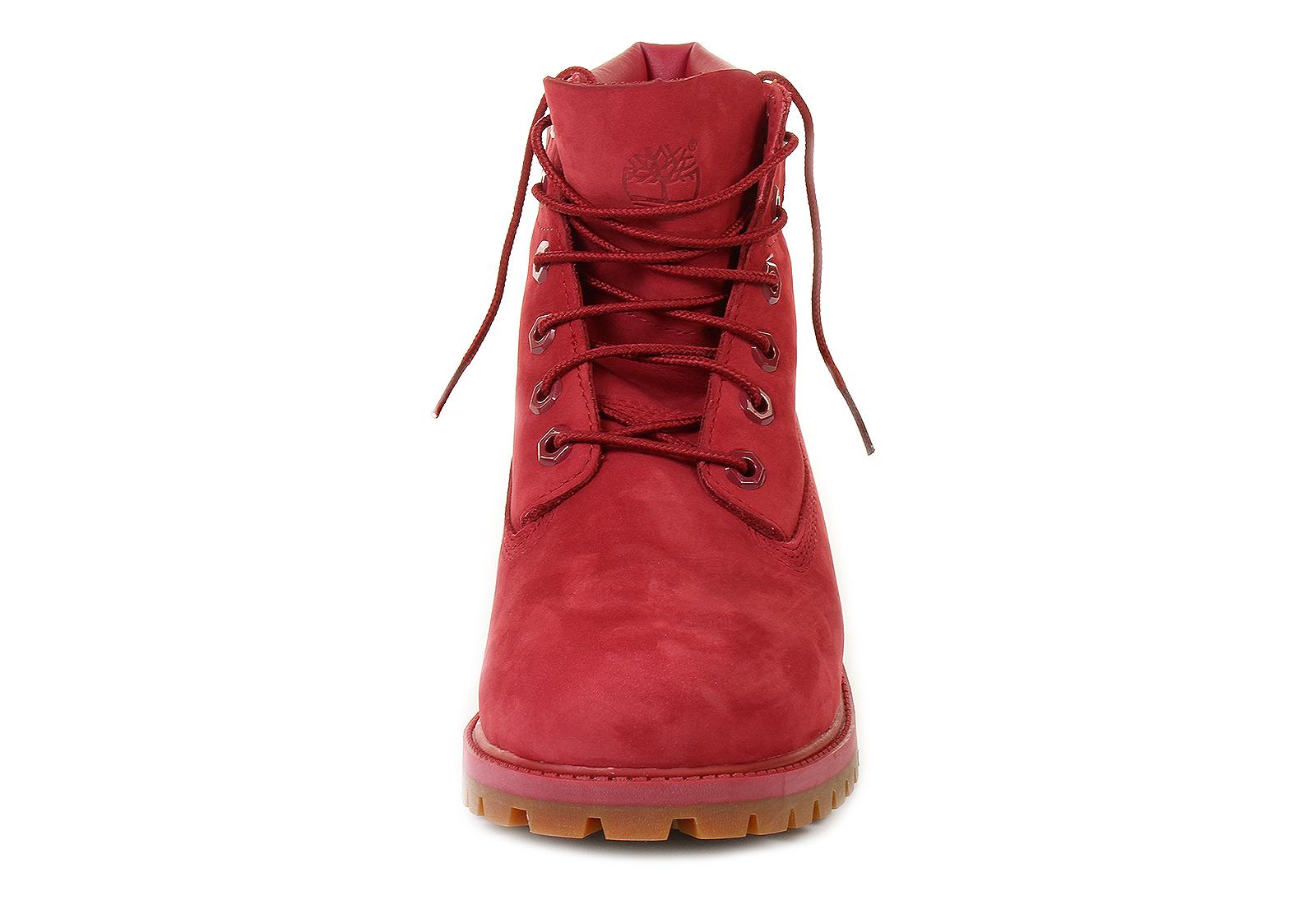 Røde Timberland Støvler Størrelse 7,5