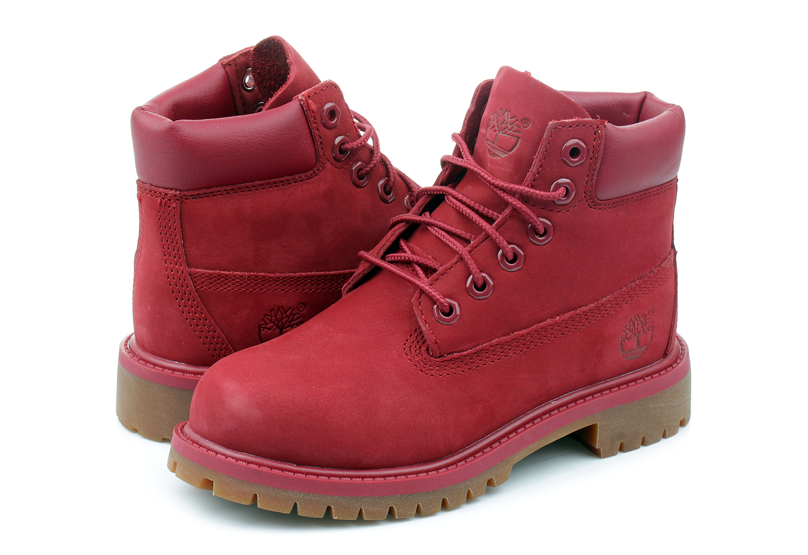 Timberland Bakancs - 6 Inch Prem Boot - a14te-red - Office Shoes ... 2a8cc9d98f