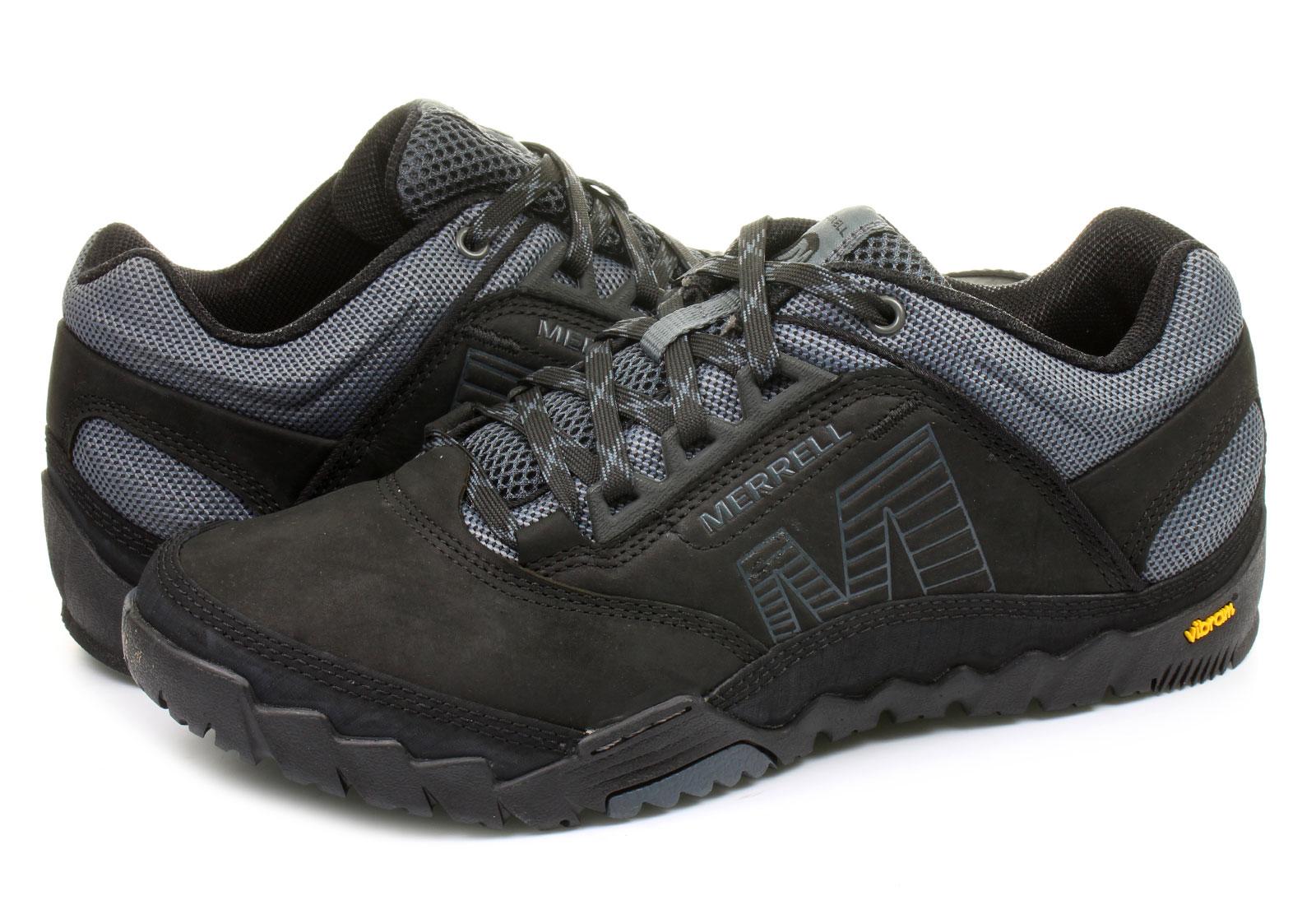 Merrell Cipő - Annex - J21191-blk - Office Shoes Magyarország 6961b42c04