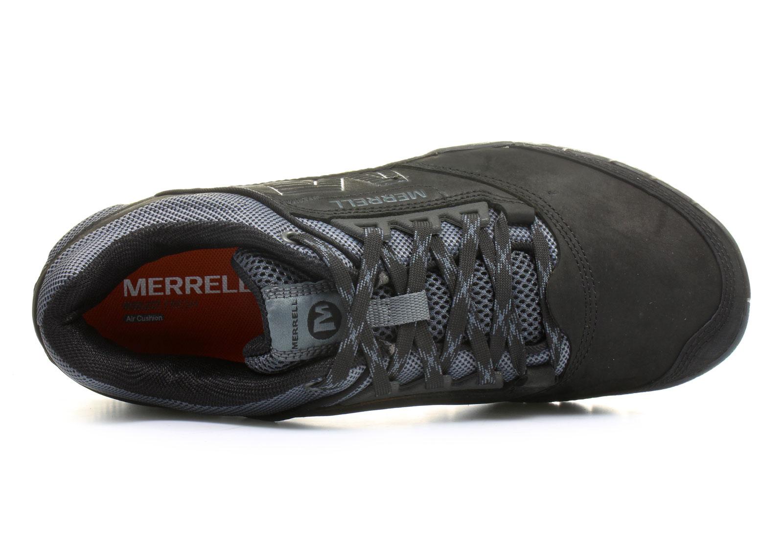 Merrell Cipő Annex J21191 blk Office Shoes Magyarország