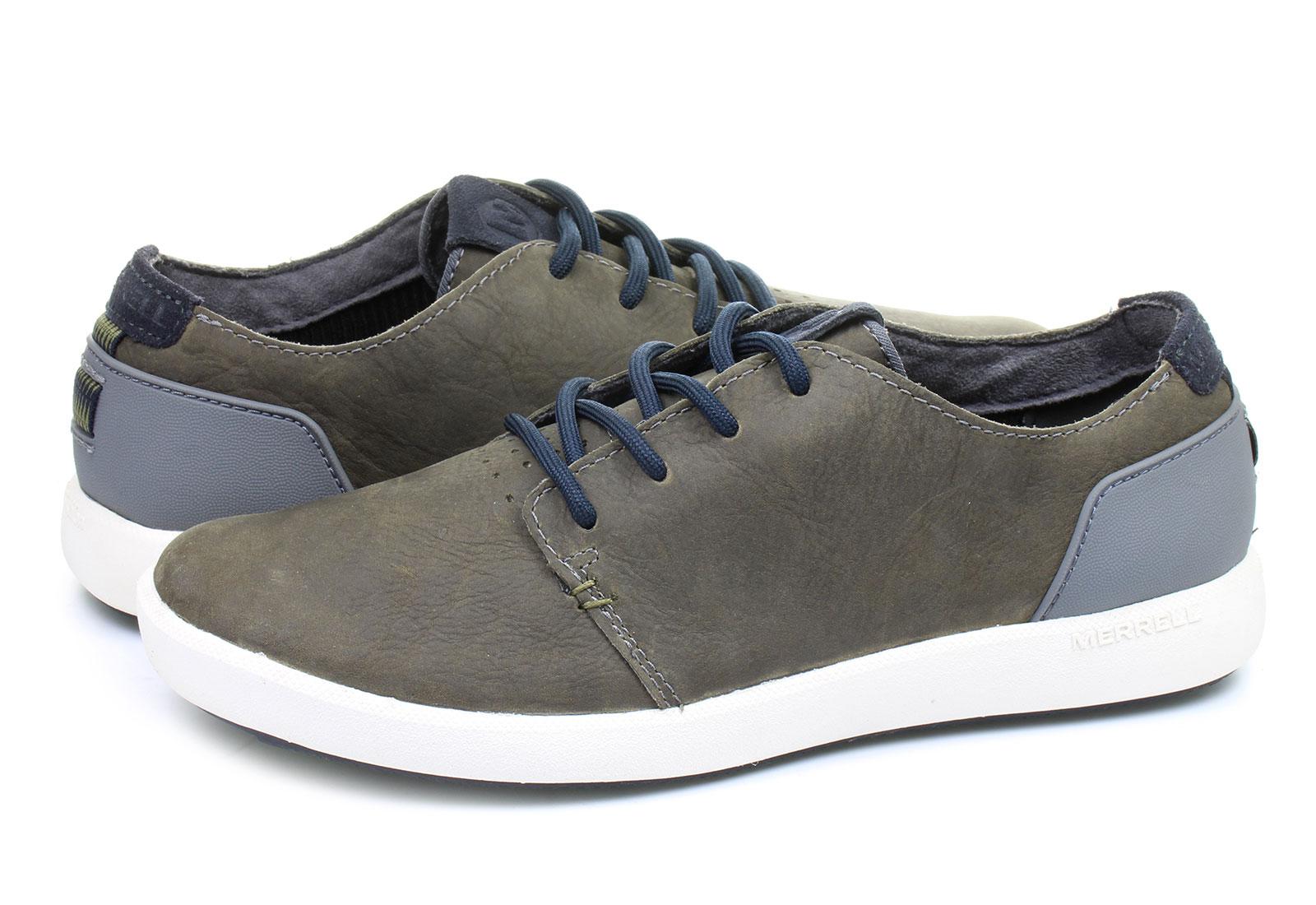 c9d7d89872 Merrell Cipő - Freewheel Lace - J21881-gry - Office Shoes Magyarország