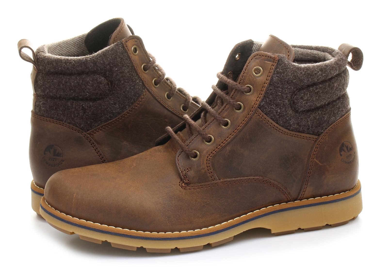 Lumberjack Boty - Hill - M166011H01-brnTenisky 0a6539b71d
