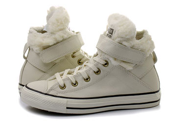pretty nice 361db 221c4 Converse Sneakers - Chuck Taylor All Star Brea Leather W Fur