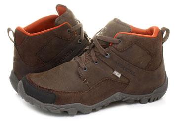 952eb5e966 Merrell Cipő - Telluride Mid Waterproof - J23513-brn - Office Shoes ...