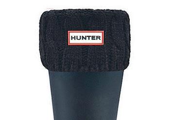 Hunter Zokni 6 Stitch Cable Boot Sock - Short