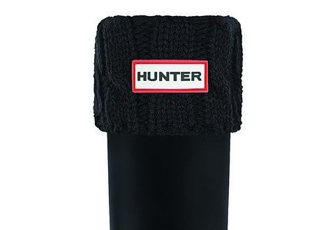 Hunter Skarpety 6 Stitch Cable Boot Sock