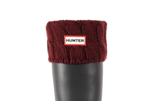 Hunter Șosete 6 Stitch Cable Boot Sock