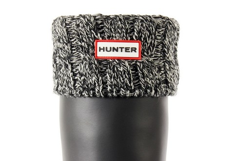 Hunter Zokni 6 Stitch Cable Boot Sock